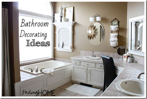 ideas for decorating bathroom 7 bathroom decorating ideas master bath finding home farms