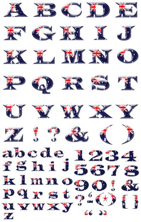 alphabet australia quality graphic resources australian flag alphabet and