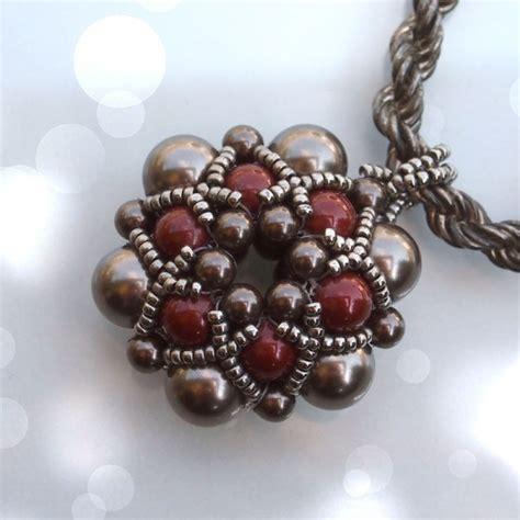 beading beginners beading tutorial dorothy pendant beaded bead beading