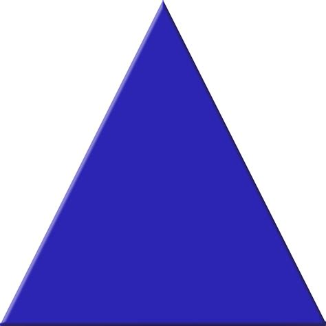 Blue Triangle Free Images At Clker Vector Clip