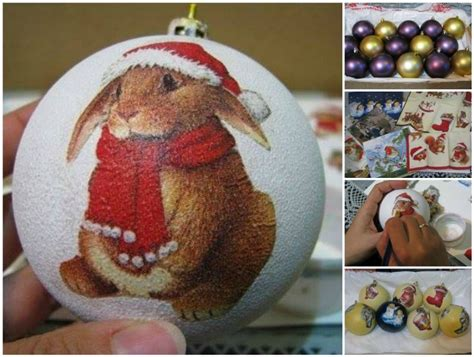 decoupage baubles how to decoupage bauble ornaments with napkin