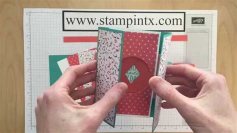 step by step card step by step tutorial for creating a shutter card