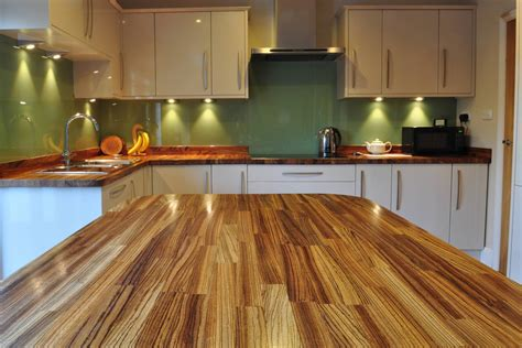 kitchen island worktops uk zebrano worktop gallery
