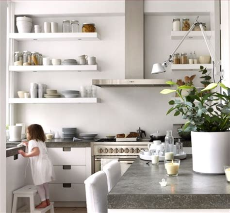 open shelf kitchen design modern interiors open kitchen shelves ideas