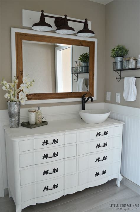 farmhouse or farm house farmhouse master bathroom reveal vintage nest
