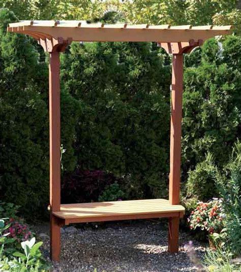 garden bench with trellis garden bench trellis woodworking plan outdoor outdoor