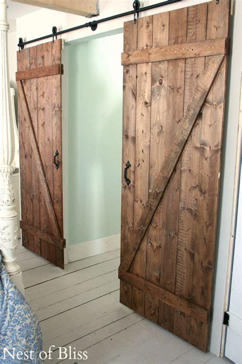 interior barn doors diy diy barn doors nest of bliss