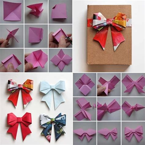 origami bow these origami paper bows are so amazing