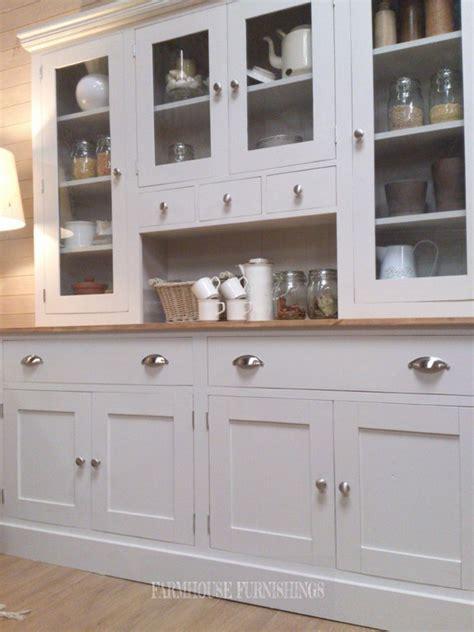 Beautiful Painted Welsh Dresser   Farmhouse Furnishings