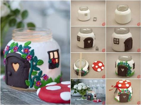 and crafts at home diy jar house find projects to do at
