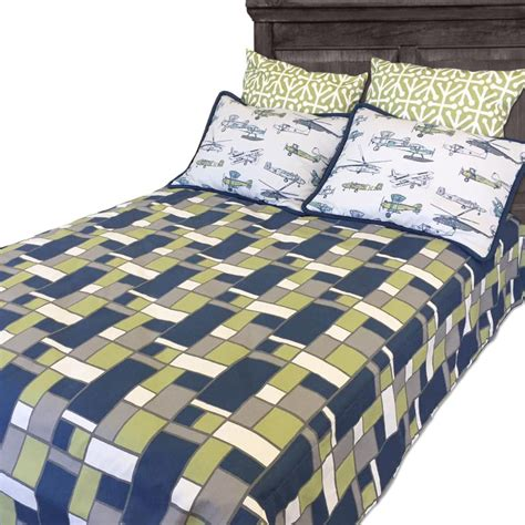 bunk bed fitted sheets quot sam quot geometric boxed fitted bunk bed comforter bedding