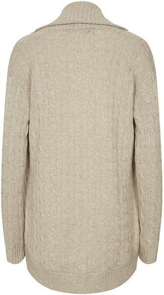 cable knit shawl collar cardigan ralph black label shawl collar cable knit cardigan