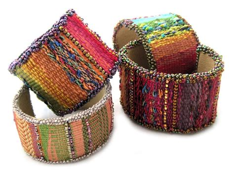 how to make a beaded cuff mirrix tapestry bead cuff bracelet by craftsy