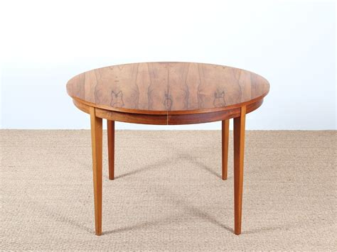 extendable dining table in rosewood 4 to 8 seats galerie m 248 bler