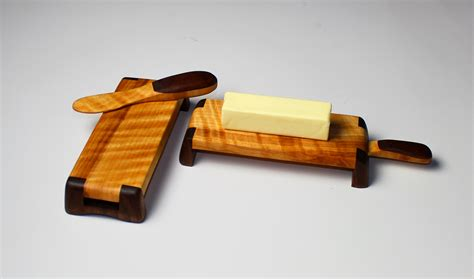 woodworking gifts diy butter dish and spreader set wwgoa