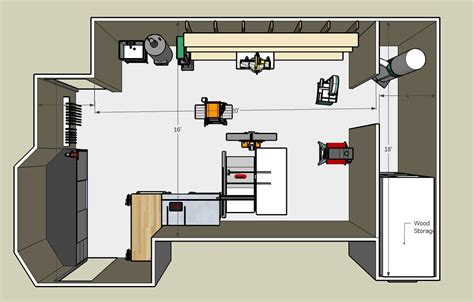 woodworkers shop plans guide to get woodworking shop floor plan free ebook 4