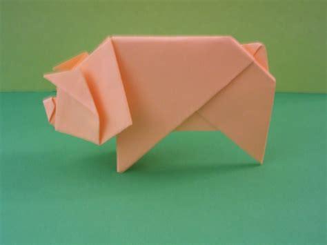 origami pigs origami photos pig