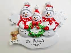 personalized family ornaments with pets personalized ornaments by orinda s originals inc