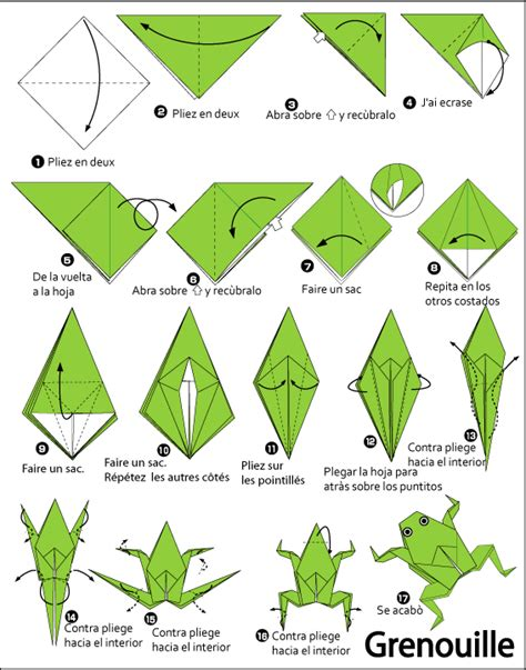 origami frog printable origami search results calendar 2015
