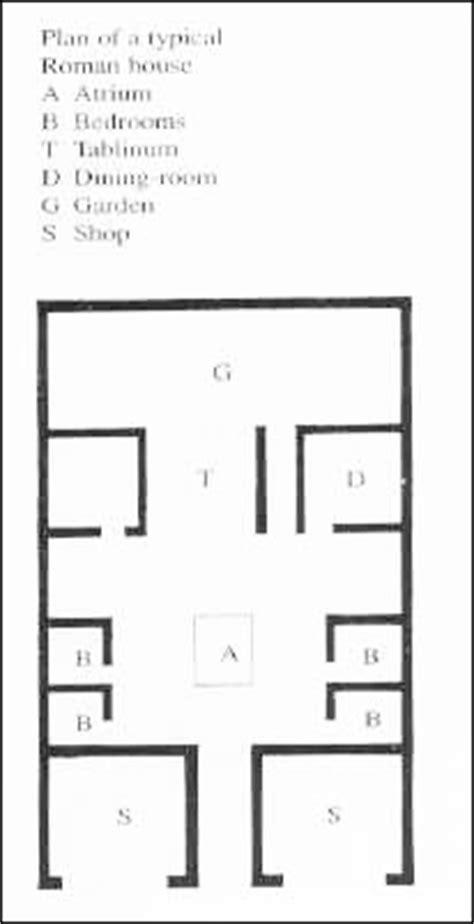 pompeian house plan 340b lecture 30 dr david soren regents professor