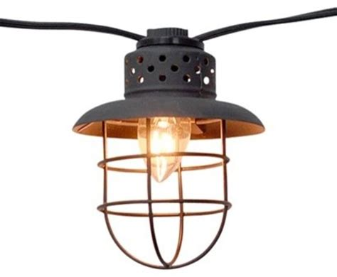 target smith and hawken string lights smith hawken metal cage string lights contemporary