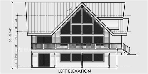 a frame house plans with basement amazing a frame house plan central oregon house plan 5