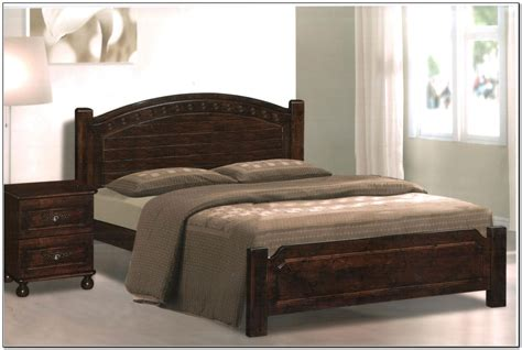size wood bed frame size bed frames wood beds home design ideas