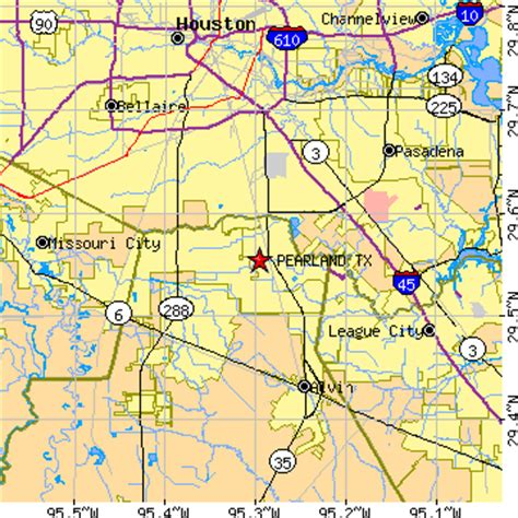 Pearland Tx Population Data Races Housing
