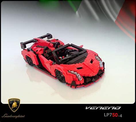 LEGO Lambo Veneno Roadster   The Awesomer