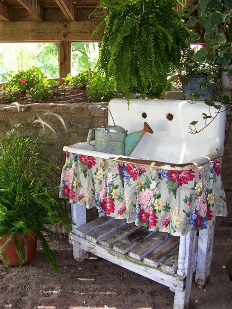Garden Ornaments And Accessories Galleries Best 25 Vintage Outdoor Decor Ideas On Rustic