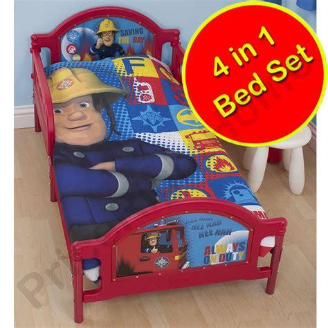 fireman sam bedroom furniture fireman sam bedding single junior duvet cover
