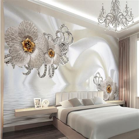 aliexpress buy murals 3d wallpapers home decor photo background wallpaper photography silk