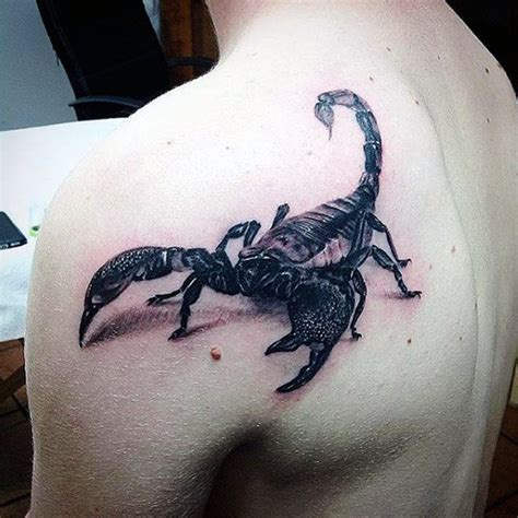 60 scorpion tattoo designs for men ideas that sting