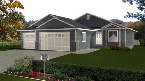 3 Bedroom 3 Bath House Plans 3 car garage house plans by edesignsplans ca 9