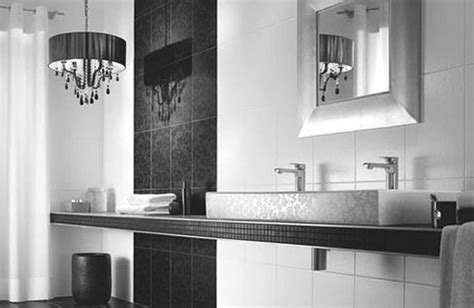 white modern bathroom black and white tile ideas for bathrooms