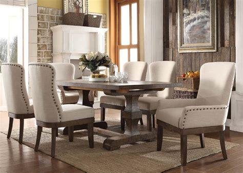 acme furniture dining room set 9 acme landon rustic dining set