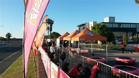 africa n1 city hundreds line up for dunkin donuts in south africa