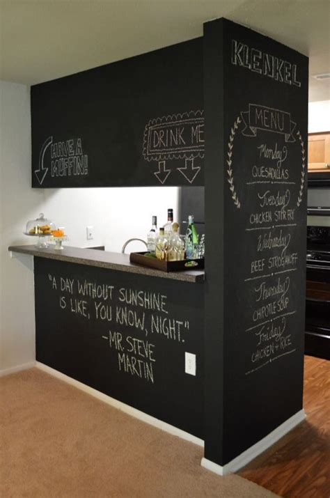 chalkboard paint ideas for basement diy chalkboard wall