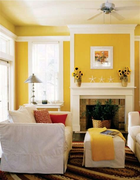 paint colors for living room yellow living room colors casual cottage
