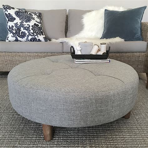 large ottoman coffee table 45 32 200 50 fabric coffee table large grey tufted