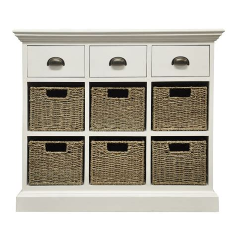 Six Drawer Dresser White by White Chest Of Drawer Wicker Baskets Buy Online Small
