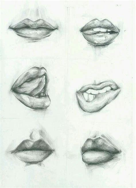 how to draw mouths how to draw realistic image 3198640 by loren on