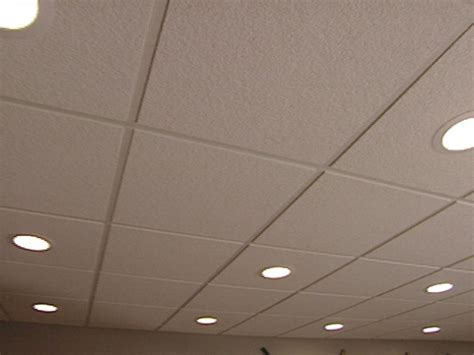 lighting for drop ceiling panels how to install an acoustic drop ceiling how tos diy