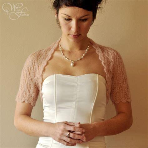 wedding bolero knitting pattern bridal shrug wedding bolero in beige color lace pattern