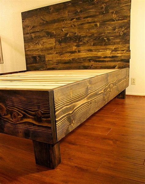 wood bed frame construction 1000 ideas about reclaimed wood beds on