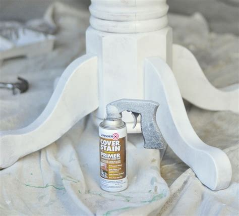 spray paint kitchen table painting a kitchen table centsational