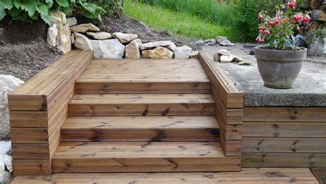 nivrem realiser escalier terrasse bois diverses id 233 es de conception de patio en bois