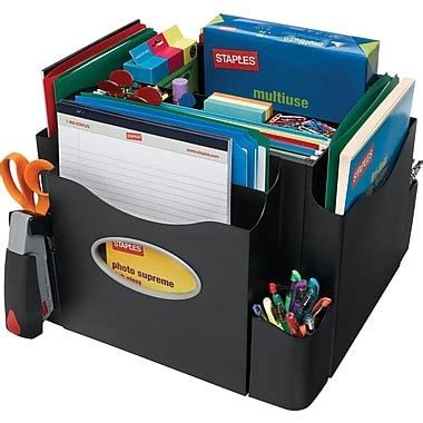 staples the desk apprentice rotating desk organizer