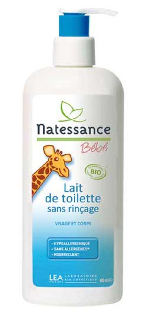 natessance lait de toilette visage et corps b 233 b 233 400ml