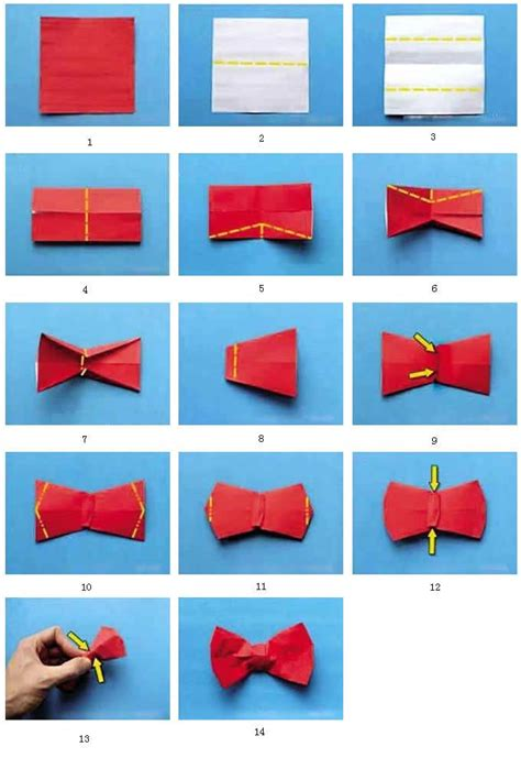 tie origami papercraftsquare new paper craft how to fold an